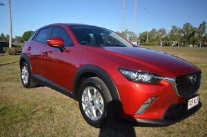 2016 Mazda CX-3 DK2W7A Maxx SKYACTIV-Drive Red 6 Speed Sports Automatic Wagon Vincent Townsville City Preview