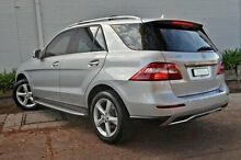 2012 Mercedes-Benz ML250  Silver Sports Automatic Wagon Burwood Whitehorse Area Preview