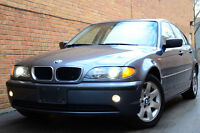 2005 BMW 325i SPORT PKG H/LEATHER-SUNROOF--ONLY 126,000 KM
