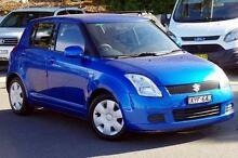 2006 Suzuki Swift RS415 Blue 4 Speed Automatic Hatchback Blacktown Blacktown Area Preview