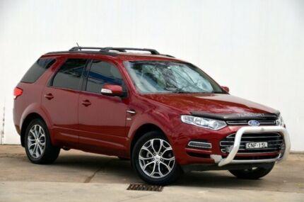 2013 Ford Territory SZ Titanium Seq Sport Shift AWD Red 6 Speed Sports Automatic Wagon