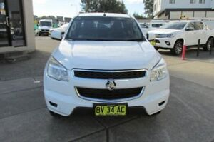 2013 Holden Colorado RG LT (4x2) White 6 Speed Automatic Crew Cab Pickup