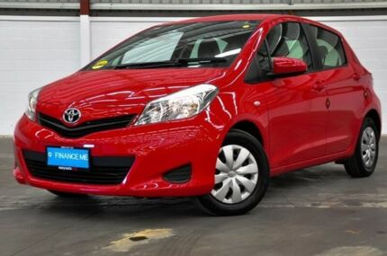 2014 Toyota Yaris NCP130R YR Red 4 Speed Automatic Hatchback Thornlie Gosnells Area Preview