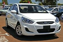 2015 Hyundai Accent RB2 MY15 Active Crystal White 4 Speed Sports Automatic Sedan Cleveland Redland Area Preview