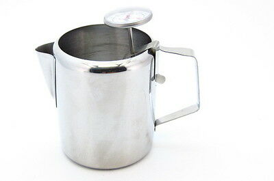 Ideal candle making wax stainless steel jug and dial clip on thermometer
