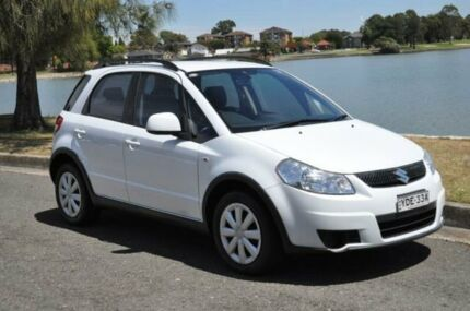 2011 Suzuki SX4 GY MY11 S White Continuous Variable Hatchback