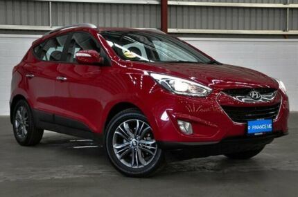 2015 Hyundai ix35 LM3 MY15 Elite AWD Red 6 Speed Sports Automatic Wagon