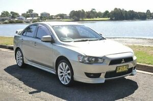 2007 Mitsubishi Lancer CJ VR-X Champagne 6 Speed CVT Auto Sequential Sedan Croydon Burwood Area Preview