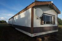 Mobile homes to be moved for sale