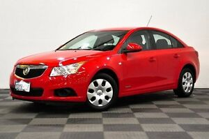 2012 Holden Cruze JH Series II MY12 CD Red 6 Speed Sports Automatic Sedan Thornlie Gosnells Area Preview