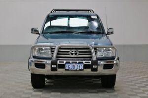2006 Toyota Landcruiser UZJ100R Upgrade II GXL (4x4) Blue 5 Speed Automatic Wagon