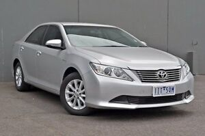 2013 Toyota Aurion GSV50R AT-X Silver 6 Speed Sports Automatic Sedan Cranbourne Casey Area Preview