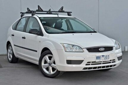 2006 Ford Focus  White Auto Seq Sportshift Hatchback Cranbourne Casey Area Preview