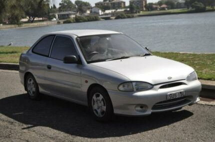 1999 Hyundai Excel X3 Sprint Silver 5 Speed Manual Hatchback