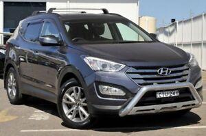 2012 Hyundai Santa Fe DM MY13 Highlander Blue 6 Speed Sports Automatic Wagon Gosford Gosford Area Preview