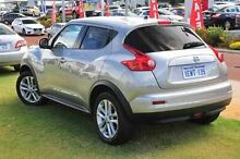 2014 Nissan Juke F15 MY14 ST 2WD Silver 1 Speed Constant Variable Hatchback Wangara Wanneroo Area Preview