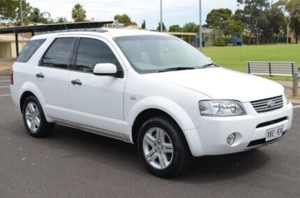 2006 Ford Territory SY Ghia White 4 Speed Sports Automatic Wagon Brompton Charles Sturt Area Preview