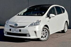 2014 Toyota Prius v  White Constant Variable Wagon Cranbourne Casey Area Preview