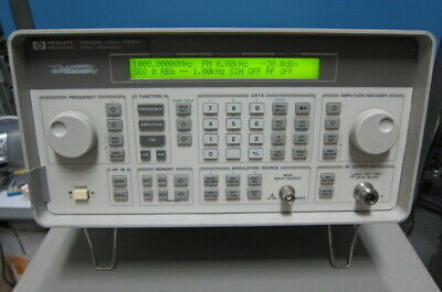 Hpagilent 8648a Synthesized Rf Signal Generator 100khz-1000mhz Wopt 1e51ep