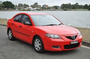 2006 Mazda 3 BK Neo Red 5 Speed Manual Sedan Croydon Burwood Area Preview