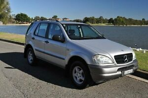 1999 Mercedes-Benz ML 320 (4x4) Silver 5 Speed Auto Tipshift Wagon Croydon Burwood Area Preview