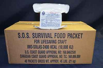 SOS 2400 Calorie Food Bar Ration  Pack