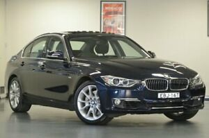 2012 BMW 335i F30 Imperial Blue Semi Auto Sedan Chatswood Willoughby Area Preview