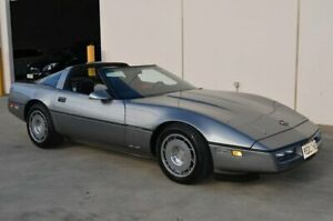 1987 Chevrolet Corvette C4 Grey 4 Speed Automatic Coupe Brompton Charles Sturt Area Preview