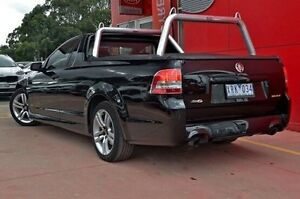 2009 Holden Ute VE MY10 SV6 Black 6 Speed Manual Utility