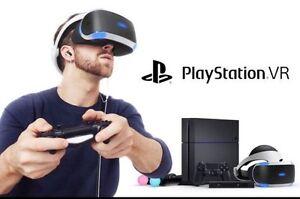 PS4, PSVR  rental $20