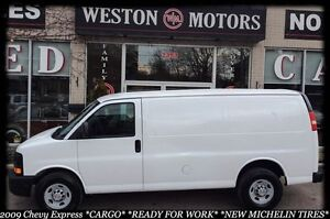 2009 Chevrolet Express 1500 CARGO*READY FOR WORK*NEW MICHELINS