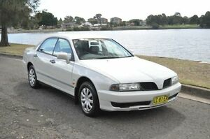 2002 Mitsubishi Magna TJ Advance White 4 Speed Automatic Sedan Croydon Burwood Area Preview