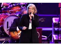 2 excellent tickets in Row F for tonight to see the wonderful Clare Teal with Big Band 19. 45 start