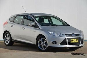2011 Ford Focus LW Trend PwrShift Silver 6 Speed Sports Automatic Dual Clutch Hatchback Blacktown Blacktown Area Preview