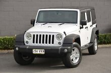 2014 Jeep Wrangler JK MY2015 Unlimited Sport White 6 Speed Manual Softtop Southport Gold Coast City Preview