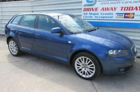 Audi A3 2.0TDI Sportback 2006MY SE ***CREDIT & DEBIT CARDS ACCEPTED***