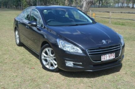 2012 Peugeot 508 Hdi Auto Allure Grey 6 Speed Automatic Sedan Berserker Rockhampton City Preview