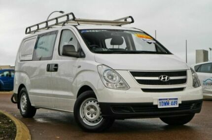 2011 Hyundai iLOAD TQ-V Crew Cab White 5 Speed Auto Seq Sportshift Van East Rockingham Rockingham Area Preview