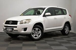 2010 Toyota RAV4 ACA38R MY09 CV 4x2 White 4 Speed Automatic Wagon Edgewater Joondalup Area Preview