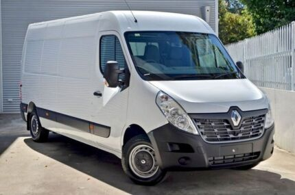 2017 Renault Master X62 Mid Roof LWB AMT White 6 Speed Sports Automatic Single Clutch Van