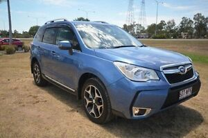 2016 Subaru Forester S4 MY16 XT CVT AWD Blue 8 Speed Constant Variable Wagon Vincent Townsville City Preview