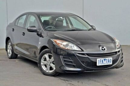 2009 Mazda 3  Black Auto Seq Sportshift Sedan Cranbourne Casey Area Preview