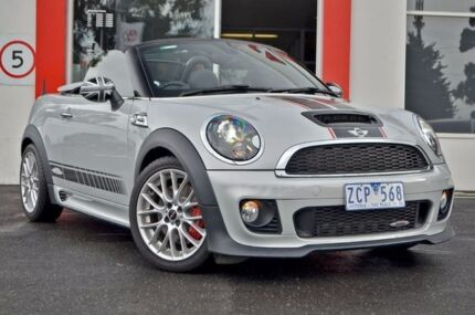2012 Mini Roadster R59 John Cooper Works White 6 Speed Manual Roadster