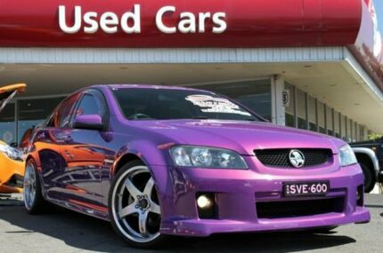 2008 Holden Commodore VE SV6 Morpheus 6 Speed Manual Sedan Liverpool Liverpool Area Preview