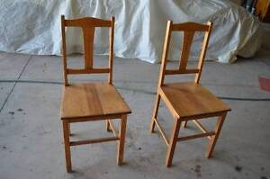 Wooden Chairs Cowra Area Preview