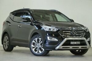 2014 Hyundai Santa Fe DM MY14 Highlander Black 6 Speed Sports Automatic Wagon Mascot Rockdale Area Preview