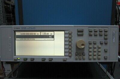 Agilenthp E4421b Rf Signal Generator 250khz-3ghz Wopt 1em