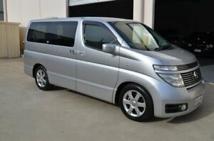 2002 Nissan Elgrand E51 Highway Star Silver 4 Speed Automatic Wagon Brompton Charles Sturt Area Preview