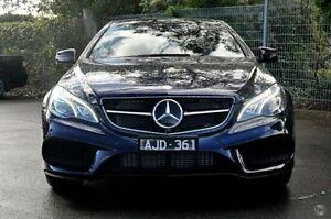 2016 Mercedes-Benz E250 Blue Sports Automatic Coupe Doncaster Manningham Area Preview