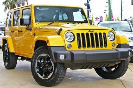 2015 Jeep Wrangler JK MY2015 Overland X Baja Yellow 5 Speed Automatic Hardtop Blacktown Blacktown Area Preview